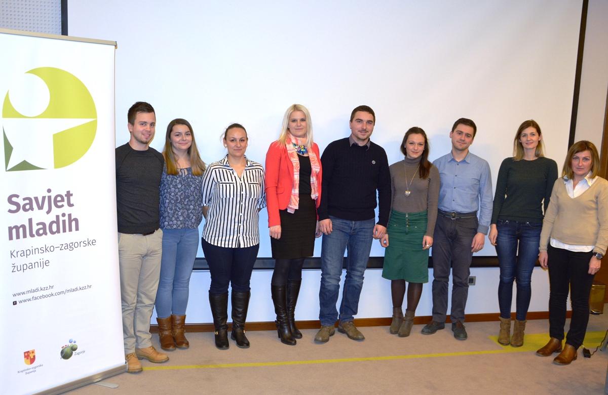 Deveta sjednica Savjeta mladih Krapinsko-zagorske županije (III. saziv)