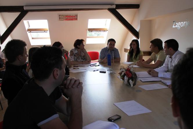 Peta sjednica Savjeta mladih Krapinsko – zagorske županije (II. saziv)