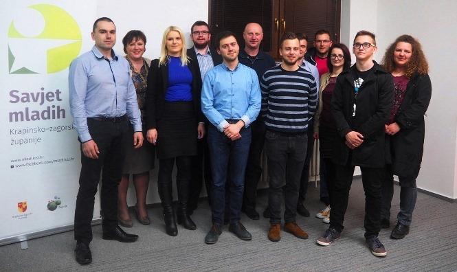 Deseta sjednica Savjeta mladih Krapinsko-zagorske županije (III. saziv)