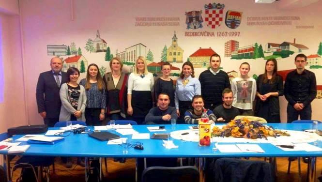 Šesta sjednica Savjeta mladih Krapinsko-zagorske županije (III. saziv)