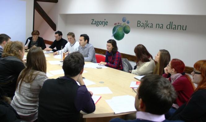 Osma sjednica Savjeta mladih Krapinsko – zagorske županije (II. saziv)