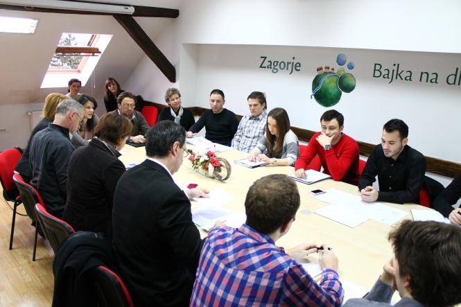Deveta sjednica Savjeta mladih Krapinsko – zagorske županije (II. saziv)
